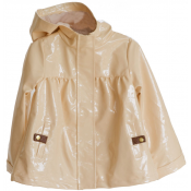 Pale Cloud jean raincoat