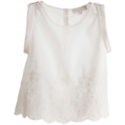 Pale Cloud lillie top
