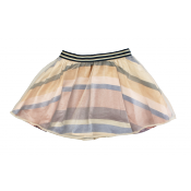Scotch R'belle double-layered skirt
