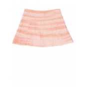 Pale Cloud chiffon skirt