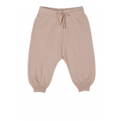 Pale Cloud cashmere harem pant