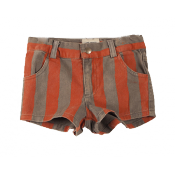 Bobo Choses stripes denim short
