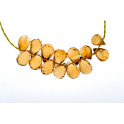 Littl by Lilit citrine necklace