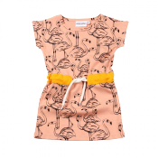 Mini Rodini flamingo dress ONLY 4Y LEFT