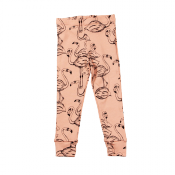 Mini Rodini flamingo leggings ONLY left 6Y