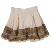 Pale Coud llana skirt ONLY 4Y and 6Y LEFT