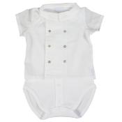 Laranjinha baby smock shirt