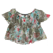 Lamantine flower camisole :: 2y and 4y ONLY