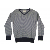 Scotch Shrunk pinstripes sweater