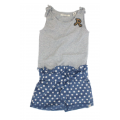 Scotch R'belle polka dots romper