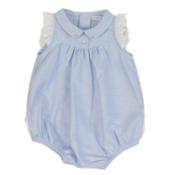 Laranjinha baby culotte romper