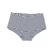 Flora and Henri french stripe short 