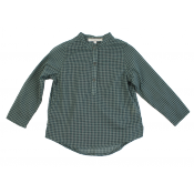 Caramel baby&child plaid shirt