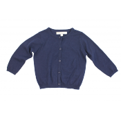 Caramel baby&child knitted cardigan blue