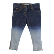 Stella McCartney kids faded skinny jeans