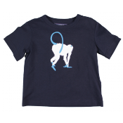 Vilebrequin tee with monkey print