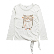 Chlo owl tee