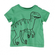 Stella McCartney kids chuckle dino baby tee