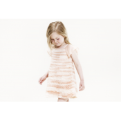 Pale Cloud chiffon dress ONLY 2y and 4y LEFT