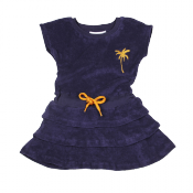Mini Rodini terry palm dress