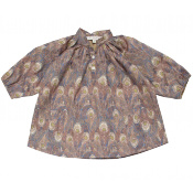 Caramel baby & child tolkien baby dress :: ONLY 6m